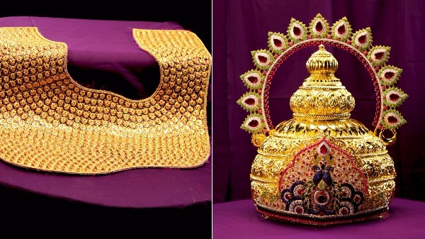 Png Jewellers Adorns Dagdusheth Ganpati With Jewels In Gold