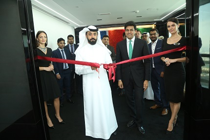 DMCC Chairperson Mr. Ahmed Bin Sulayem inaugurating DIACOLOR