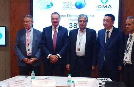 (l to r) Rony Unterman, Ernie Blom, Anoop Mehta, Lin Qiang and Mehul Shah