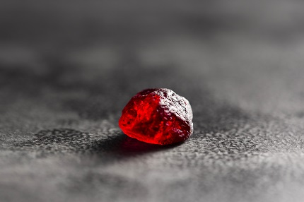 Rose of Mozambique rough 12.24-ct