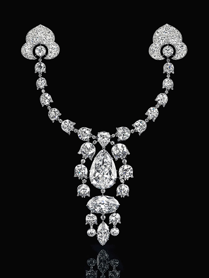 Belle Époque diamond Diamond Devant-De-Corsage Brooch by Cartier fetched the highest price of USD 10,603,500