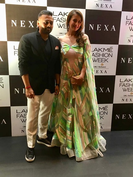 Narayan Jewellers By Ketan And Jatin Chokshi Unveil Their New Diamond Collection At The Lakme Fashion Week In Association With Dpa