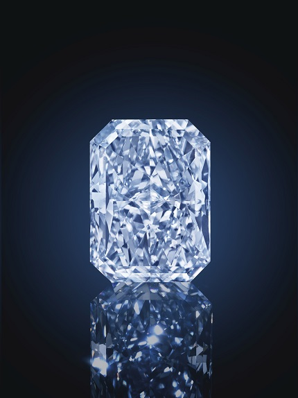 The Cullinan Dream: A 24.18ct Fancy Intense Blue VS2 Rectangular-Shaped Diamond