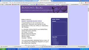 Screenshot of Boston